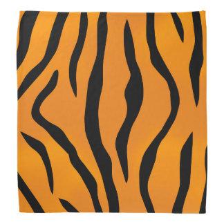 Wilder Tiger Stripes Muster Halstuch