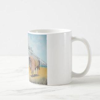 Wilder Westen Buffalo Bill-Illustration Kaffeetasse