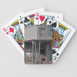 Wilder Westsaal Bicycle Spielkarten