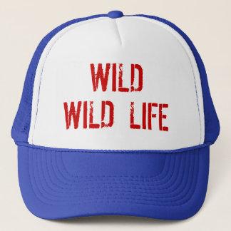 Wilder wilder Leben-Fernlastfahrer-Hut Truckerkappe