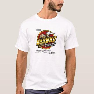 Wilder wilder Zug-T - Shirt