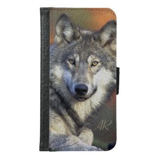 Wilder Wolf Geldbeutel Hülle Für Das Samsung Galaxy S6