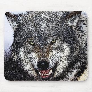 Wilder Wolf Mauspads