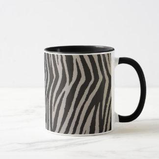 Wilder Zebra-Druck Tasse