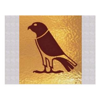 Wilder Zoo VOGEL Eagles künstlerische Postkarte