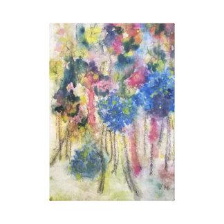 'Wildes Bouquet Leinwanddruck