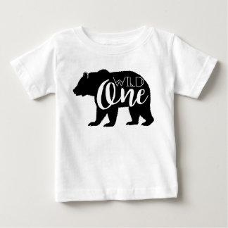 Wildes erstes Geburtstags-Party des Bärn-| Baby T-shirt