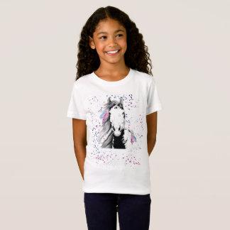 Wildes, freies und buntes Jugend-T-Shirt T-Shirt