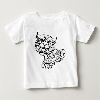Wildes Gamer-Maskottchen Baby T-shirt