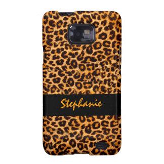 Wildes Gepard-Muster Samsung Galaxy S2 Hülle