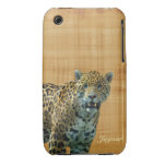 Wildes gepunktetes Jaguar u. Papyrus iPhone Fall iPhone 3 Hülle