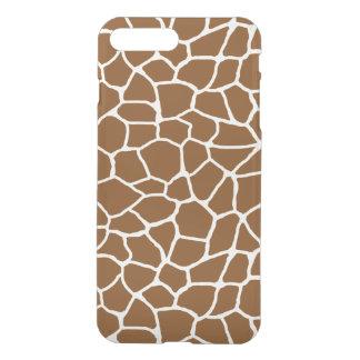 Wildes Giraffen-Muster-Tierdruck iPhone 8 Plus/7 Plus Hülle