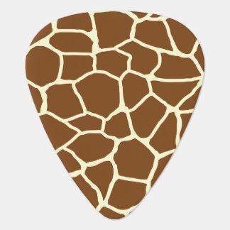 Wildes Giraffen-Muster-Tierdruck Plektron