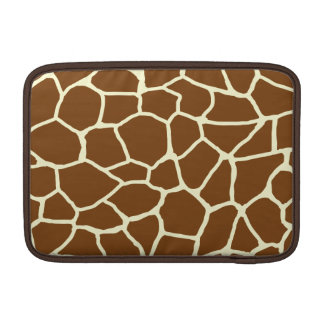 Wildes Giraffen-Muster-Tierdruck Sleeve Fürs MacBook Air