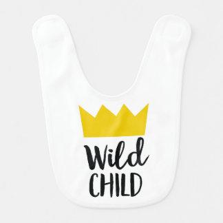 Wildes Kind Babylätzchen