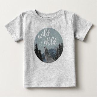 Wildes Kinderbaby T Baby T-shirt