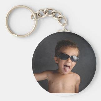 Wildes KinderFoto Schlüsselanhänger
