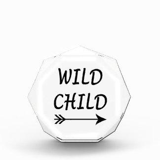 Wildes Kindergeschenk Acryl Auszeichnung
