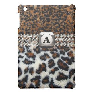 Wildes Leopard-Pelz iPad Minifall iPad Mini Schale