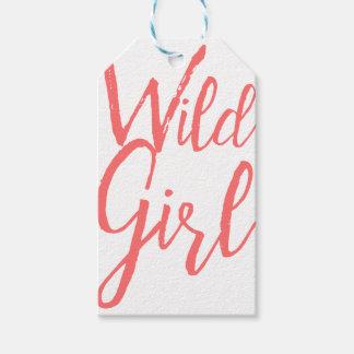 Wildes Mädchen (feministische Ausdrücke) Geschenkanhänger