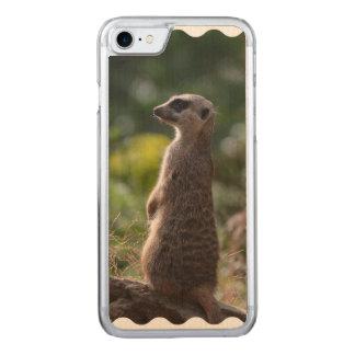 Wildes Meerkat Carved iPhone 8/7 Hülle
