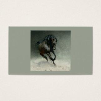 Wildes PferdeVisitenkarte Visitenkarten