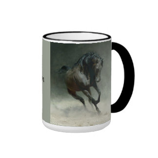 Wildes PferdHoofprints Tasse