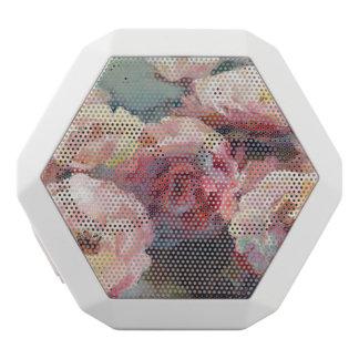 Wildes Rosa-Rosen Weiße Bluetooth Lautsprecher
