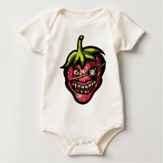 Wildes Strawaberry Baby Strampler
