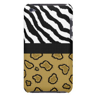 Wildes Tier-Druck Barely There iPod Etuis