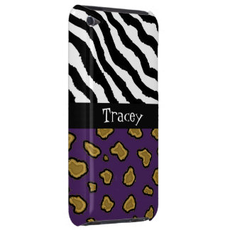 Wildes Tier-Druck-Namenipod-Touch-Fall Case-Mate iPod Touch Case