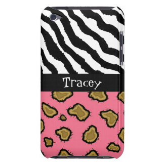 Wildes Tier-Druck-Namenipod-Touch-Fall Case-Mate iPod Touch Hülle