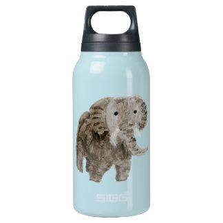 Wildes Tier-Elefant-Kunst Isolierte Flasche