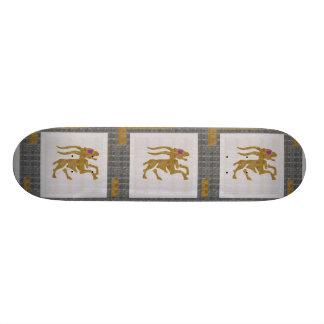 WILDES TIER-ROTWILD-JAGD-TIERKREIS Grafik NAVIN 21,6 Cm Skateboard Deck