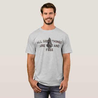 wildes und freies T-Shirt