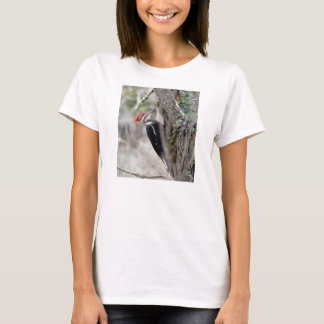 Wildes Vogel-Shirt: Pileated Specht T-Shirt