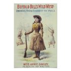Wildes Westannie Oakley Plakat Buffalo Bills