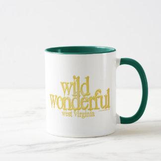 Wildes wunderbares Virginia-Westgelbes Tasse