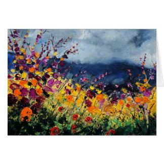 wildflowers45 grußkarte