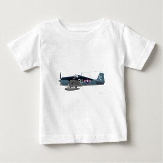 Wildkatze Grummans F-6F Baby T-shirt