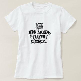 Wildkatze, John Muir-Studenten-Rat T-Shirt
