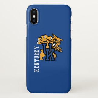 Wildkatzen-Logo Kentuckys | iPhone X Hülle