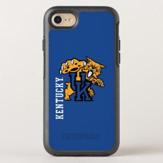 Wildkatzen-Logo Kentuckys | OtterBox Symmetry iPhone 8/7 Hülle