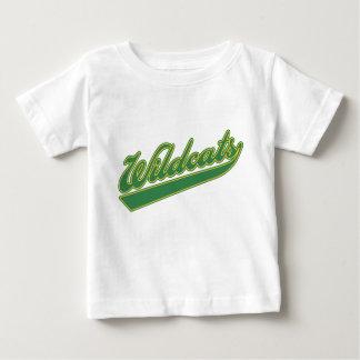 Wildkatzen-Skript Baby T-shirt