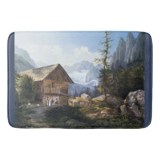 Wildnis-Alpen-GebirgsChateau-Bad-Matte Badematte