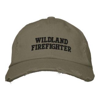 Wildnis-Feuerwehrmann Bestickte Kappe