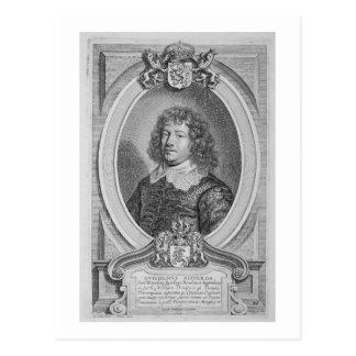 Willem Ripperda (1600-69) von 'Porträt-DES Homm Postkarte