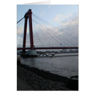 Willemsbrug, Rotterdam Karte