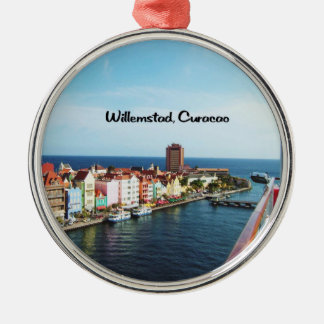 Willemstad Curaçao Silbernes Ornament
