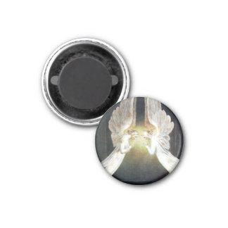 William Blake Christus im Sepulchre-Magneten Runder Magnet 2,5 Cm